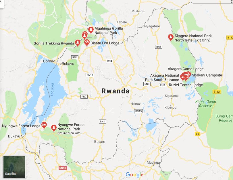 Rwanda Game Parks