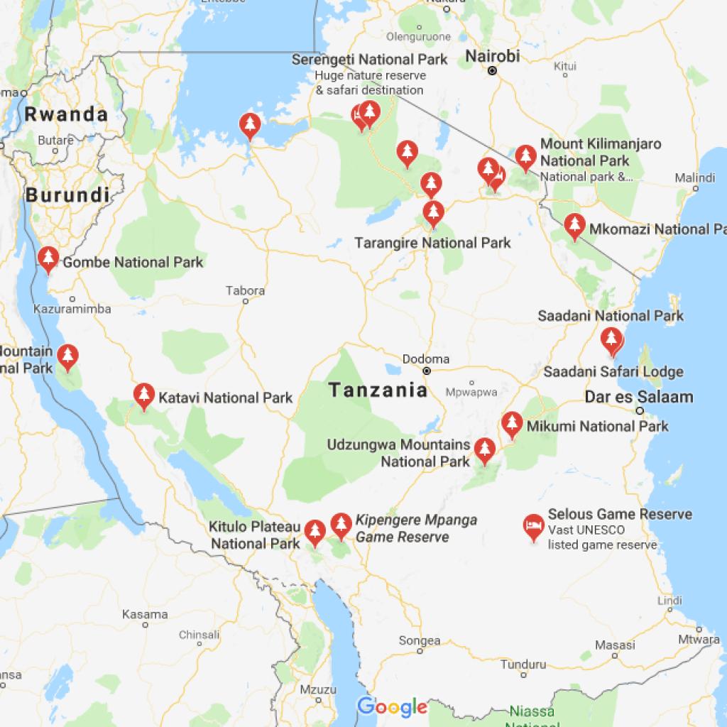 Tanzania Game Parks